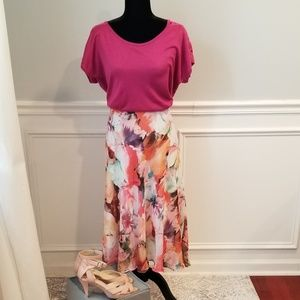 Water Color Skirt  by Avenue